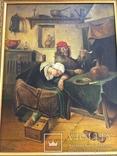 Картина ''Веселье'', Европа, малые голландцы (копия). photo 2