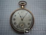 Часы карманные Швейцария 1900 г. золото 56 пробы на ходу photo 2