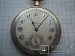 Часы карманные Швейцария 1900 г. золото 56 пробы на ходу photo 3