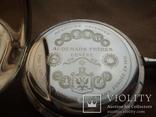 Часы карманные Швейцария 1900 г. золото 56 пробы на ходу photo 9