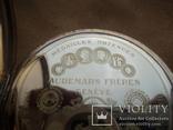 Часы карманные Швейцария 1900 г. золото 56 пробы на ходу photo 10