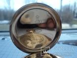 Часы карманные Швейцария 1900 г. золото 56 пробы на ходу photo 13