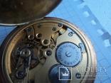 Часы карманные Швейцария 1900 г. золото 56 пробы на ходу photo 15
