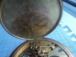 Часы карманные Швейцария 1900 г. золото 56 пробы на ходу photo 16