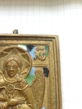 Икона литая Спас Благое молчание (емали) photo 6