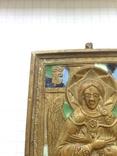 Икона литая Спас Благое молчание (емали) photo 7