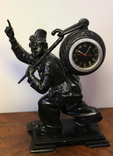 """Часы-скульптура """"Хранитель времени"""", Касли 1960 г."""