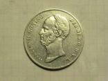 """2.5 гульдена """"Willem II Koning"""" 1849г"""