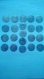 Старовинні срібні монети полтораки (21шт.)