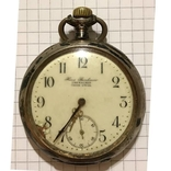 Часы карманные серебряные.