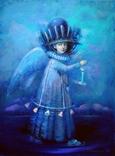 "Авт. картина ""Мой загадочный ангел"",х., м., 2018 г, Мацегора Елена"
