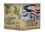 Альбом для для монет США 1 доллар Президенты и Сакагавея, фото №3