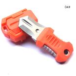 Тактический нож с креплением Molle оранжевый