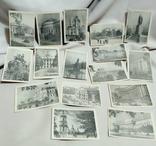 """15 почтовых открыток """" Киев 1930-1939 г. """". РСФСР. Чистые. Тираж 10 тыс."""