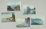 Почтовая карта (открытка). Крым. ГИЗ.1918 - 1929 года. 5 штук.