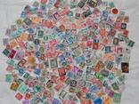 Марки разных стран и периодов 400 шт.