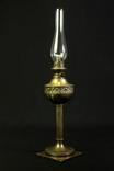 Коллекционная керосиновая лампа. Винтаж. Высота 560 мм. Европа. (0676)