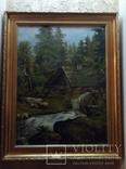 Мельница в лесу (А.Жоба 19 век)