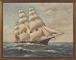 Две картины T. Bailey, холст на доске. Америка, кон XIX - нач XX вв.