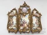 Старовинна ширмочка під годинник із рідним циферблатом