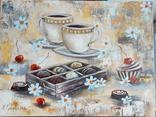 """Картина 30*40 """"Шоколад"""" Грінченко Наталія 2015 холст/масло"""