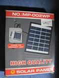 Солнечная панель MP-002WP 2W-6V Solar Panel