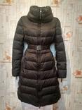 Пальто женское. Пуховик теплый длинный BENETTON