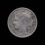 5 Франков 1851 Церера, Франция Вторая Республика