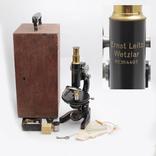 "№1987 "" Микроскоп «Ernst Leitz Wetzlar» с №364491 """