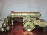 Царь - пушка с гравировками, бронза, вес 7 кг. 600 гр.
