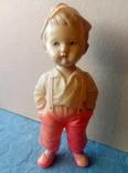 Кукла СССР мальчик целлулоид . Клеймо .