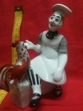 Статуэтка Петух и Клоун