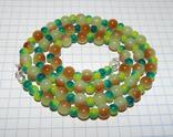 Цветные бусы намисто пацьорки 5, фото №2