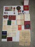 Комплект наград подполковника, разведчика. КЗ1+КЗ2+ОВ+польские награды. С документами. photo 2