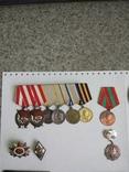 Комплект наград подполковника, разведчика. КЗ1+КЗ2+ОВ+польские награды. С документами. photo 1