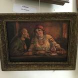 """Картина """"В трактире"""", Россия, художник Щербаков."""