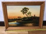 Дві картини річний пейзаж художник Коршук А.Н.