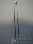Цепочка золото 5.66гр 585` 15KT 52см, фото №6