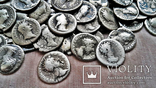 Коллекция Римских Антонианов, Денариев, Силикв 350 штук, 936 гр. без резерва photo 7