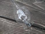 Стекло к керосиновой лампе диаметр 4,3 в лоте 5 штук, фото №5