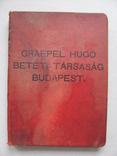 Graepel Hugo betéti tarsasag Budapest 1929, фото №13