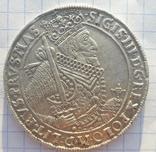 Талер Сигизмунд ІІІ 1628 год. Ваза photo 1
