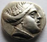 Древняя Греция, тетробол (340-330 гг. до н.э.),Эвбея, г. Гистея