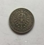 Германия Анхальт 2 марки 1876, фото №4
