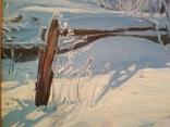 """Картина. """"Зима"""" photo 4"""