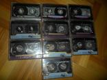Аудиокассета кассета 10 шт в лоте RONEeS, фото №2
