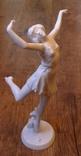 Юная балерина. Rosenthal. Автор - D.Charol. Высота - 29 см., фото №3