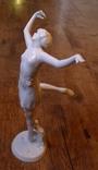 Юная балерина. Rosenthal. Автор - D.Charol. Высота - 29 см., фото №4