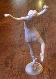 Юная балерина. Rosenthal. Автор - D.Charol. Высота - 29 см., фото №5
