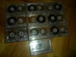 Аудиокассета кассета SAEHAN C60 и С90 - 10 шт в лоте музыкальная коллекция, фото №3